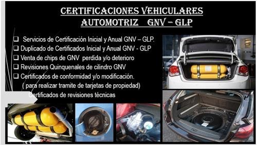 Servicio De Certificaciones Vehiculares Gnv - Glp