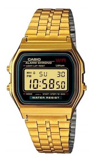 Relógio Vintage Casio A159wgea-1df Dourado