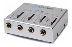Sj Amplificador De Fones Excelente Qualidade Arcano Ha-4s