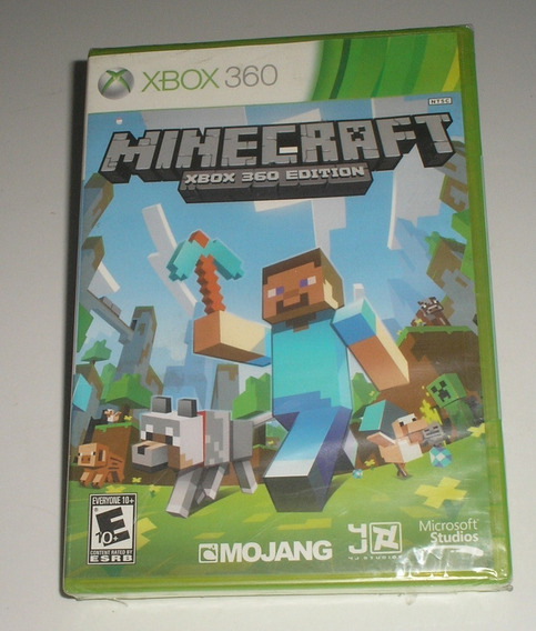 Minecraft Xbox 360 Edition Original Lacrado