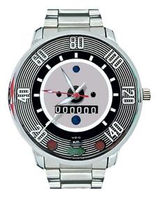 Relógio Pulso Masculino Velocímetro Volkswagen Fusca 140 Km