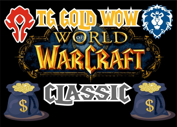 Gold,ouro Wow Classico 25g Thalnos