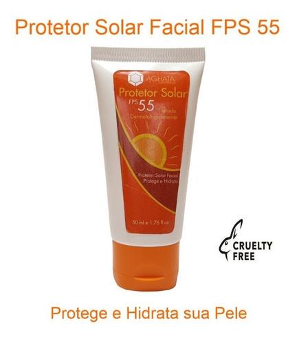 Protetor Solar Facial Fps 55  Gel Creme 50 G ( Promoção )