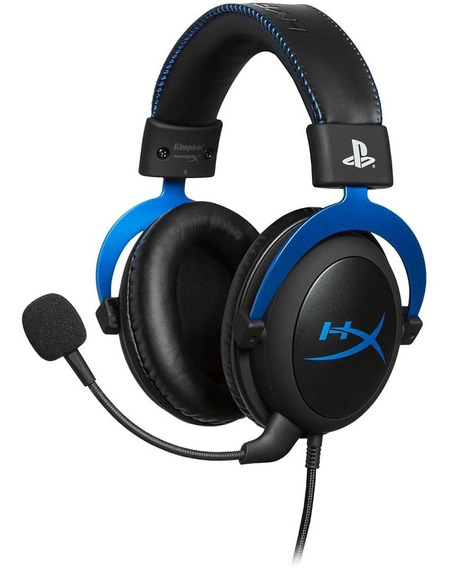 Headset Gamer Hyperx Cloud Blue Ps4 - Hx-hscls-bl/am