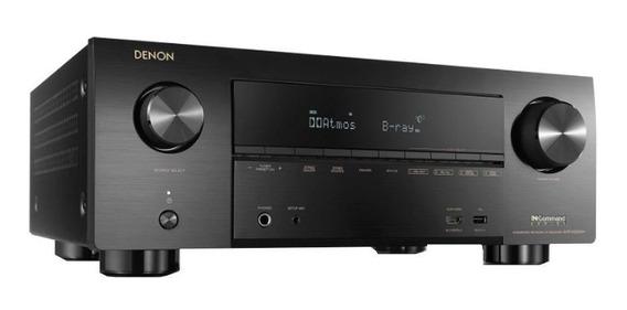 Receiver Avr X3500h 7.2 Canais Hdmi Bluetooth Denon