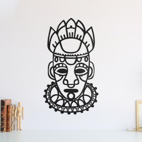 Quadro Decorativo Parede Pessoas Mascara Inca 01 30cm