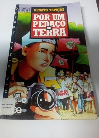 Livro Por Um Pedaço De Terra Renato Tapajós Editora Ática