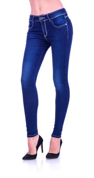 Pantalón De Mezclilla Jeans Gal-3001a