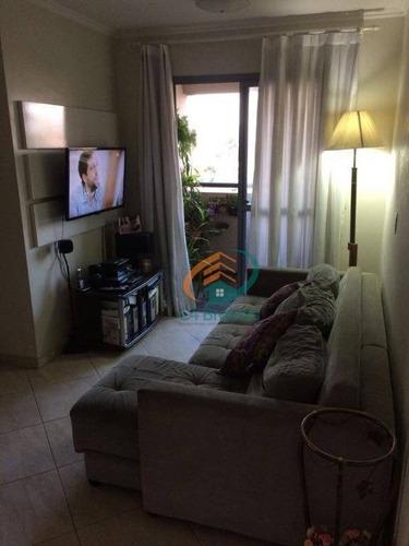 Imagem 1 de 23 de Apartamento Com 2 Dormitórios À Venda, 52 M² Por R$ 325.000,00 - Parque Peruche - São Paulo/sp - Ap1920
