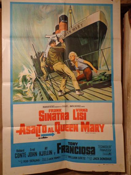 Asalto Al Queen Mary- Frank Sinatra-original-70x110cm