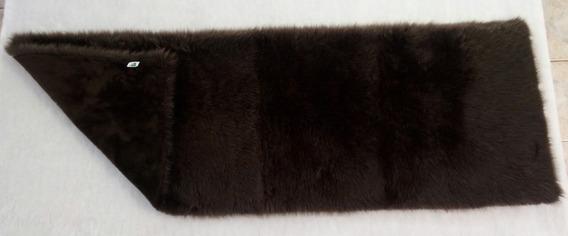Manta Pele Sintética 60cm X 1,50m Sofisticação Qualidade