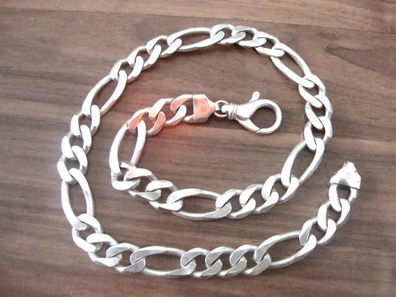 Corrente Cordão Prata 925 - 125 Gramas - 55 Cm - Oferta