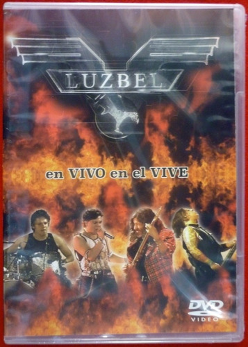 Imagen 1 de 3 de Luzbel - En Vivo En El Vive