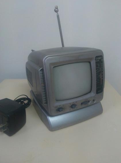 Televisor Radio Portatil Marca Coby