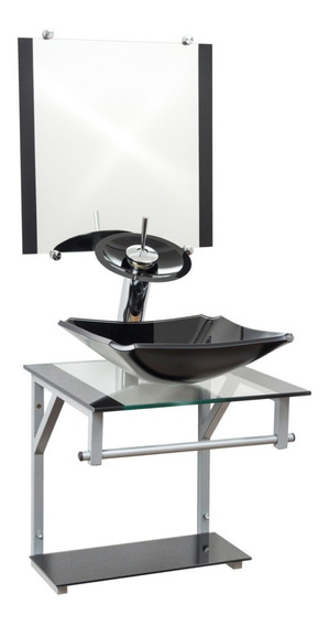 Kit Acessórios Gabinete De Vidro Europeu 40x40cm