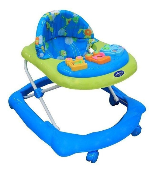 Andadera Infanti Train Blue And Green