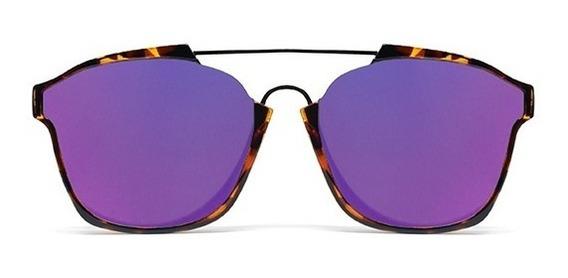 Lente De Sol Tornasol Color Violeta, Glasses G3 Pop7154