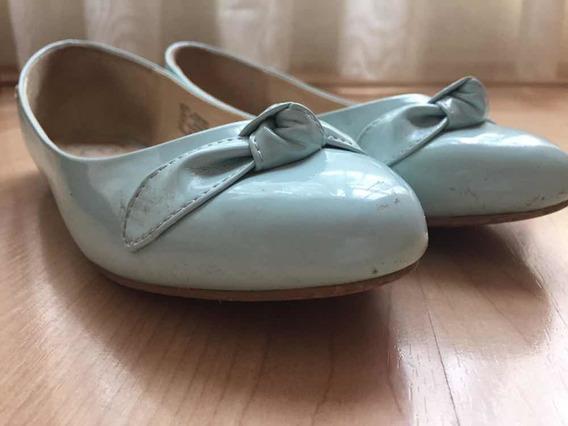 Zapato De La Marca Cloe Color Azul Pastel