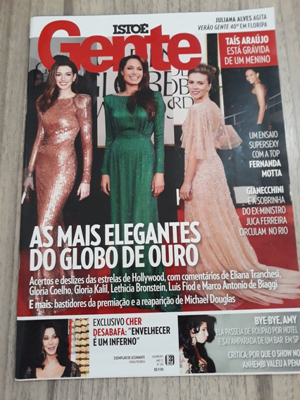 Isto É Gente 583 Angelina Jolie Sandy Cher Amy Ney Matogross
