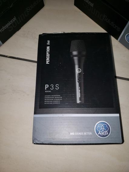 Microfone Akg Perception P3s Dinâmico