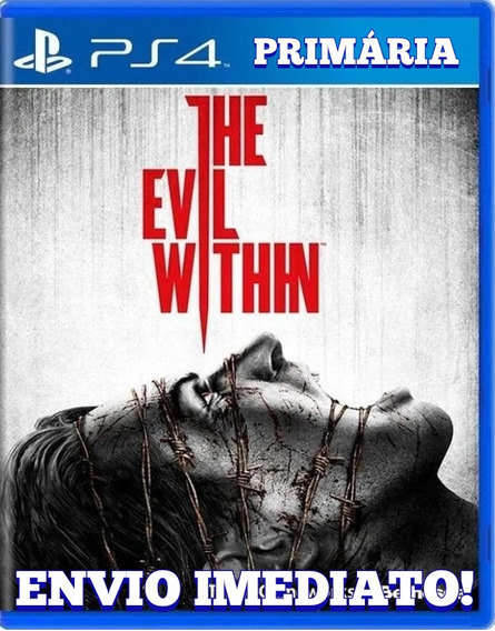 The Evil Within Ps4 1° Digital Psn Original