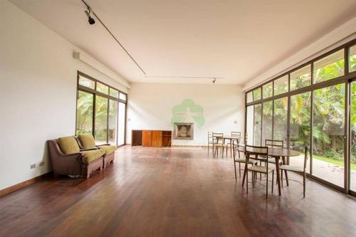 Casa, 608 M² - Venda Por R$ 4.350.000,00 Ou Aluguel Por R$ 20.000,00/mês - Vila Morumbi - São Paulo/sp - Ca0284