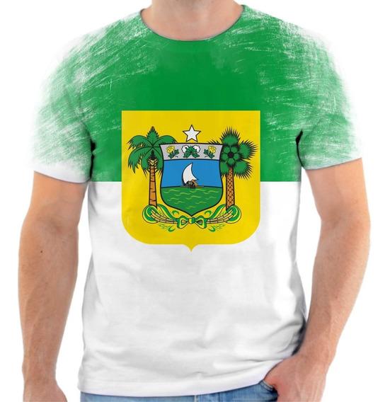 Camiseta, Camisa Bandeira Do Estado Do Rio Grande Do Norte.