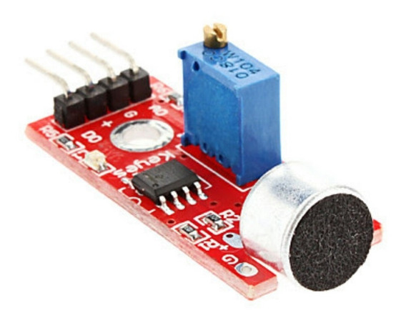 Módulo Sensor De Som Lm393 Arduino Pic