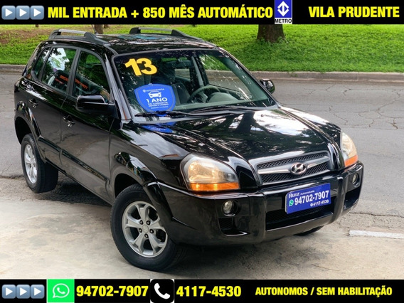 Hyundai Tucson Automatico Mil Entrada+850mes Metro Sao Lucas
