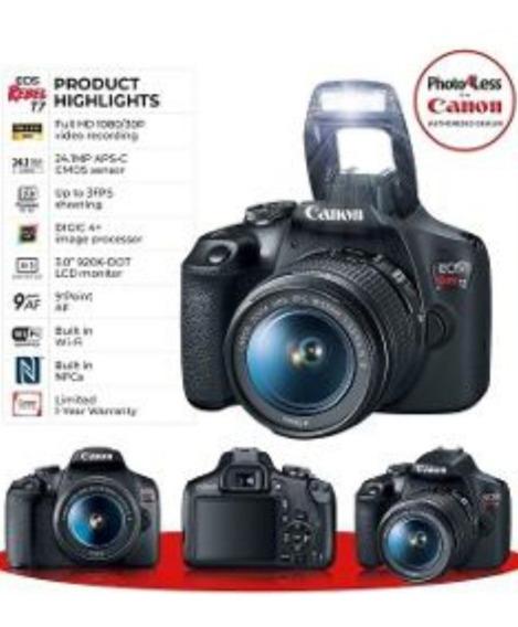 Kit Canon 7 Seminova