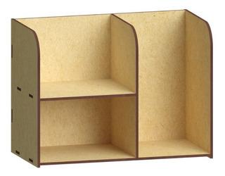 1 Pza Organizador Para Articulos De Oficina, Mdf, Papelería Rg565