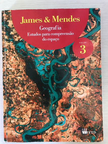 Livro De Geografia Volume 3 - Editora Ftd
