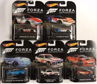 Hot Wheels Coleção Forza 2018 (5 Minis) Única No Ml
