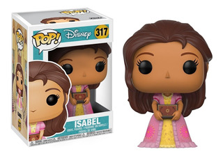 Funko Pop Isabel 317 Disney Original Figura Coleccionable