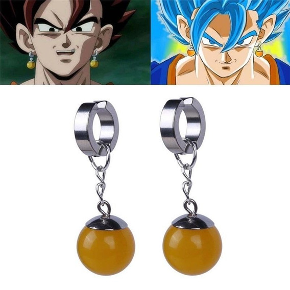 Cosplay De 1pc Super Dragon Ball Z Dbz Vegetto Potara Pendie