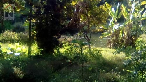 Área À Venda, 8600 M² Por R$ 600.000,00 - Fazenda Aya - Suzano/sp - Ar0004
