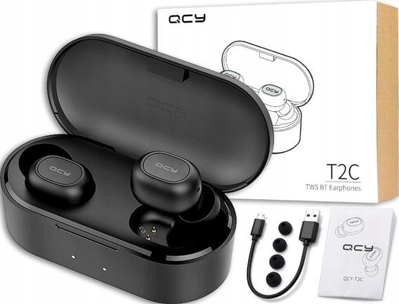 Fone Sem Fio Qcy T2c Tws Bluetooth 5.0 Original Pr. Entrega