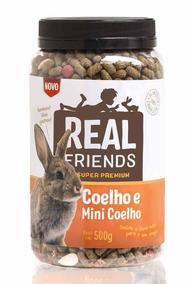 Ração Realfriends Coelho - 500 G Alimento