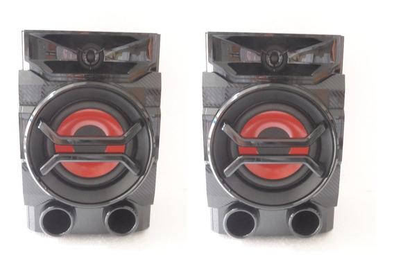 Kit 2 Caixas De Som Original Lg Rad126 / Rad125 / Cm4340