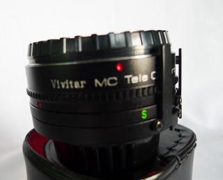 Teleconvertidor Vivitar 2x Para Minolta Md/mc