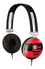 Fone De Ouvido Flamengo Oficial Waldman Sf-fla Cor Vermelho