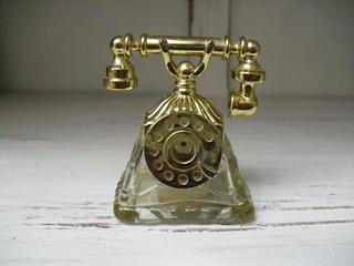 Frasco De Perfume Avón. Teléfono Antiguo. De Colección