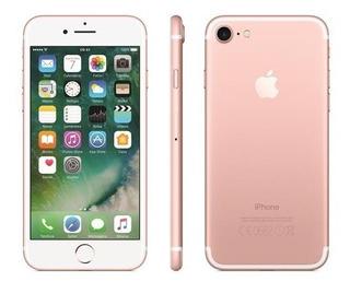 iPhone 7 Ouro Rosa Tela 4,7 4g 32 Gb Câmera 12 Mp Mn912bz/a