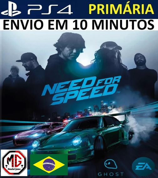 Need For Speed 2015 Ps4 - Psn Original 1 - Portugues
