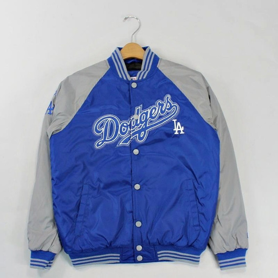 Jaqueta Varsity New Era Mlb Los Angeles Dodgers