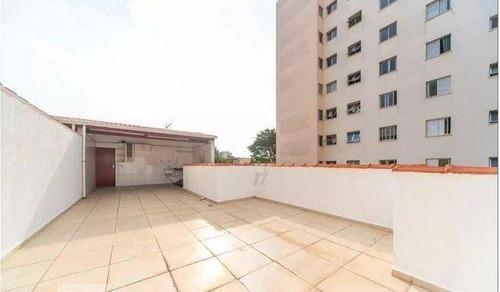 Imagem 1 de 15 de Cobertura Com 2 Dormitórios À Venda, 118 M² Por R$ 385.000,00 - Vila Guiomar - Santo André/sp - Co0408