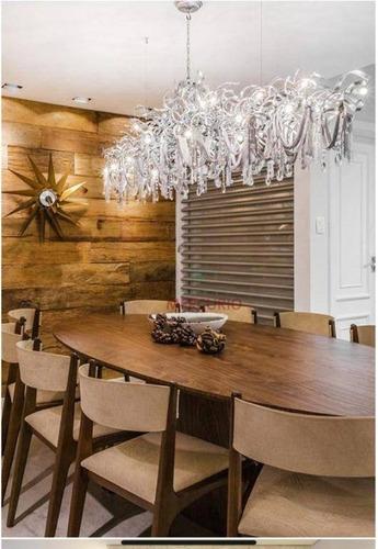 Imagem 1 de 8 de Apartamento Com 3 Dormitórios À Venda, 260 M² - Jardim Estoril Iv - Bauru/sp - Ap0739