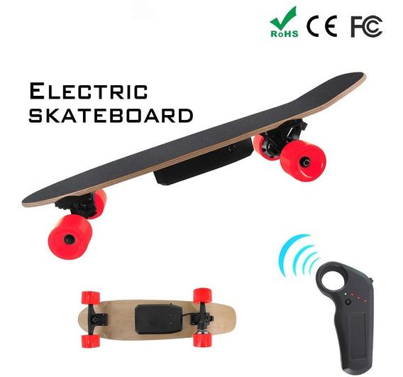 Skateboard Longboard Electrico 15km/hora Solo Para Niños