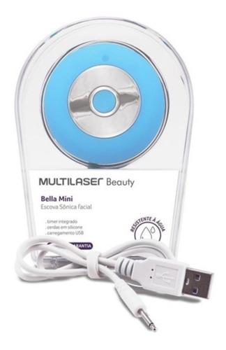 Escova Sônica P/ Limpeza Facial Bella Mini Multilaser