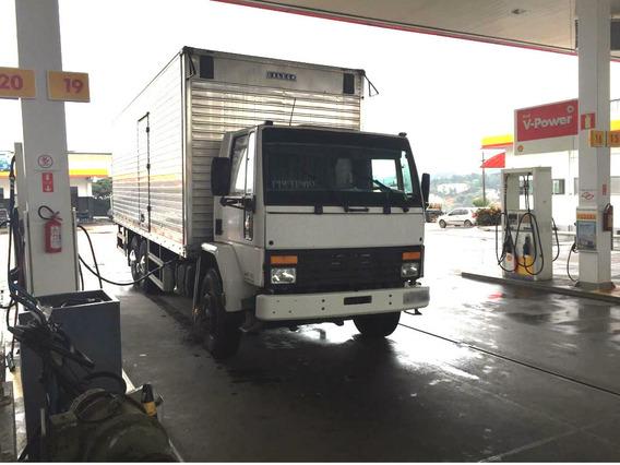 Ford Cargo 1415 Truckado Ano 1999 Baú Termorevestido 8,5 M